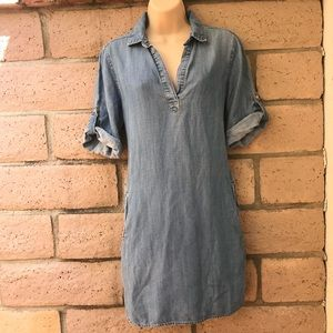 XS- cloth & stone shirtdress